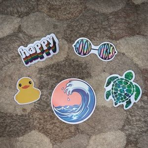 vsco sticker set